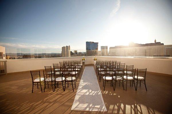 Rooftop Wedding At Platinum Las Vegas Little Venue Guide