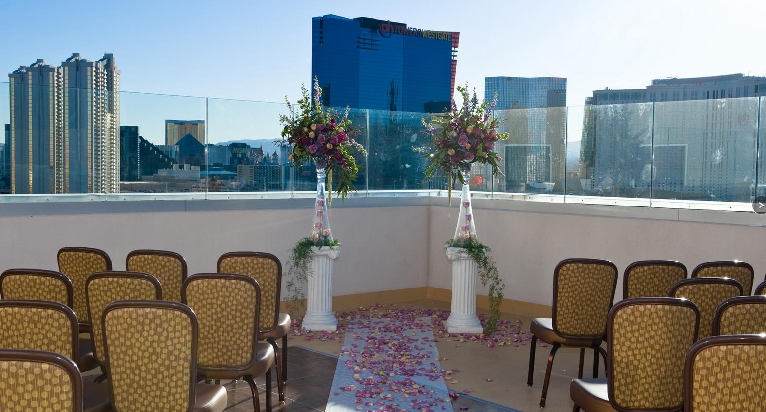 Wedding Reception Venues Vegas : Ultimate vegas wedding venue guide rooftop weddings at platinum las ? little