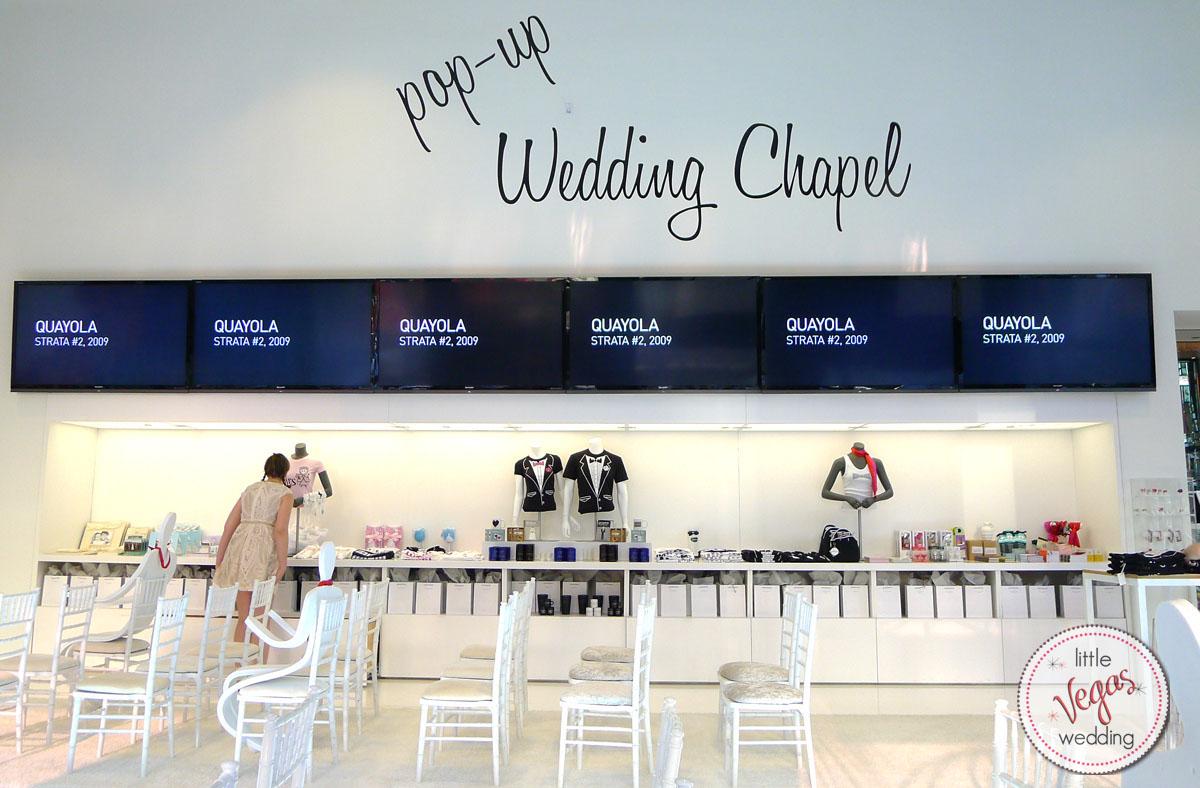 Pop Up Wedding Chapel Interior At Cosmopolitan March 2017 Photo Kelly Little Vegas