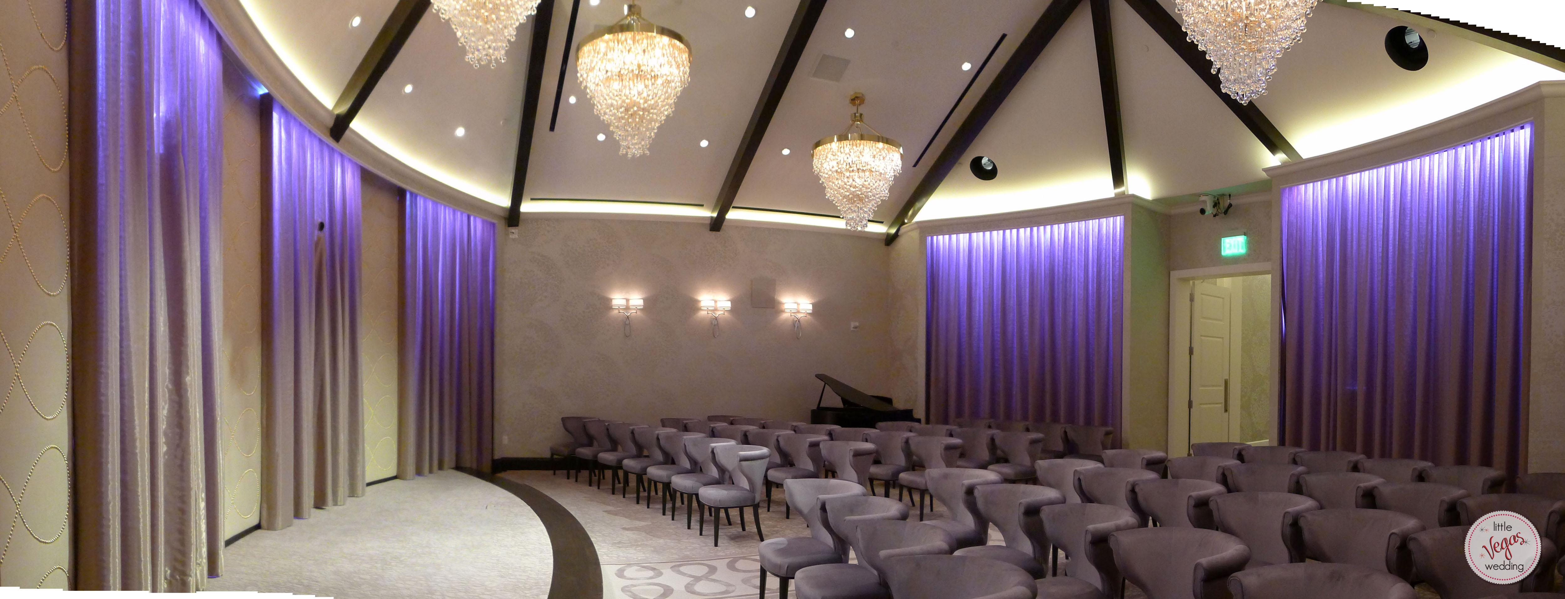 ARIA Las Vegass Wedding Chapel