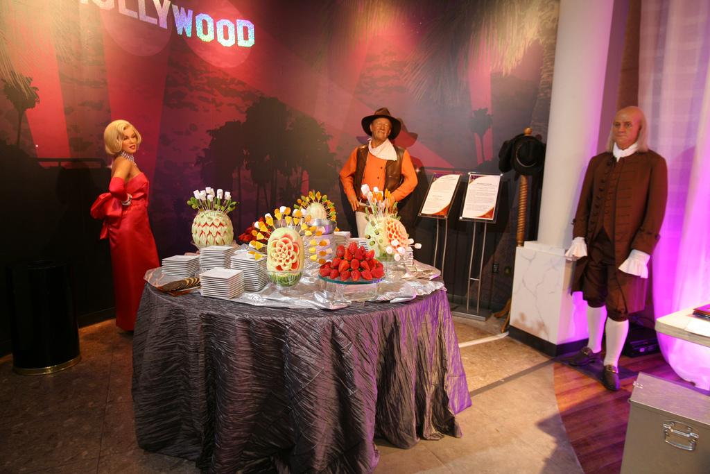 Wedding Venues At Madame Tussauds Las Vegas