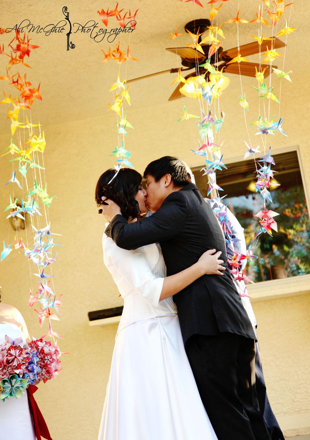 Backyard Wedding Reception Decorations