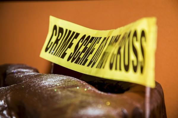 CSI - Crime Scene Cake