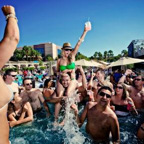 Pool Party Wedding at MGM