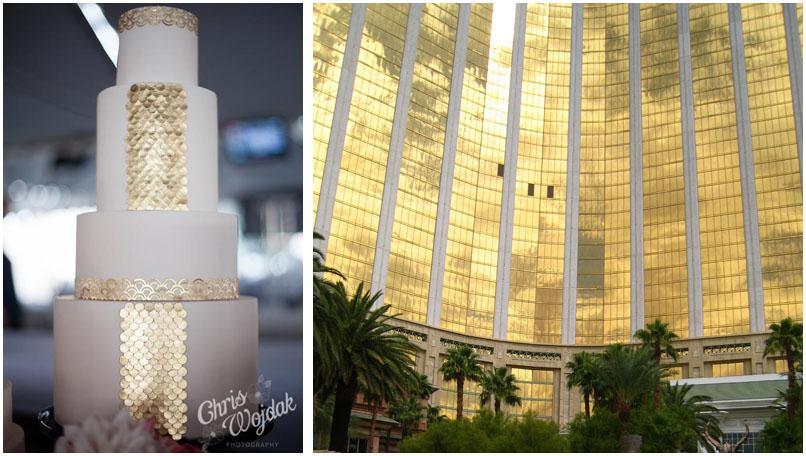 26 Wedding Cakes Masquerading as Hotels in Las Vegas » Little Vegas ...