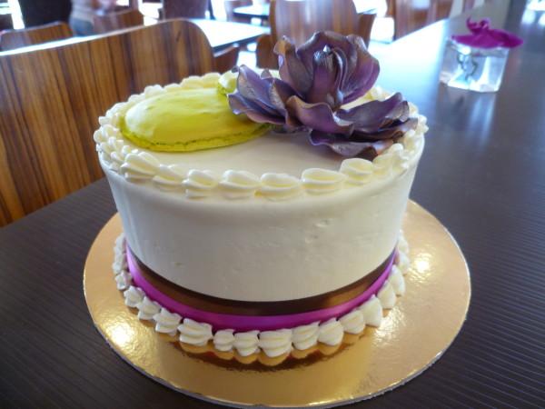 Chocolate and Spice Bakery Wedding Cake
