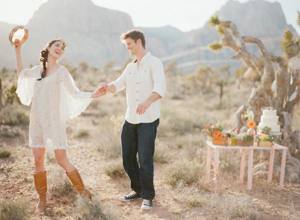 A Las Vegas Desert Elopement | Gaby J Photography