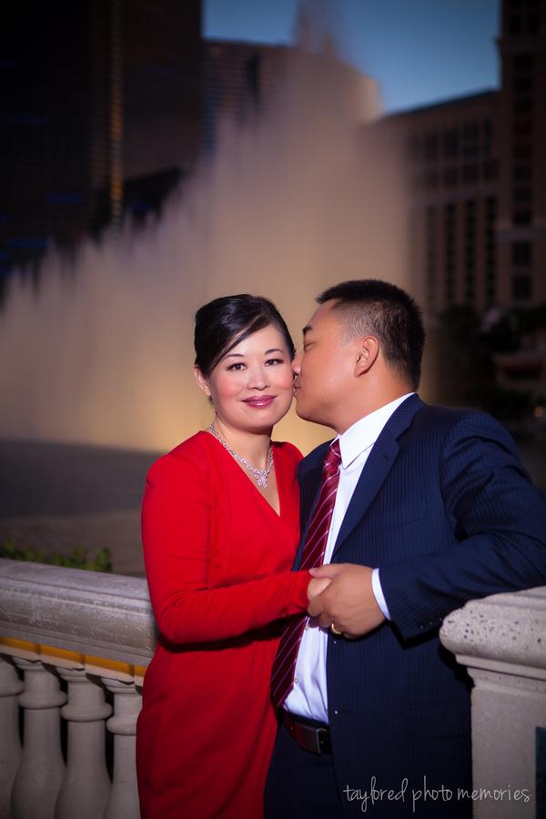 Las Vegas Strip Wedding Shoot | Taylored Photo Memories