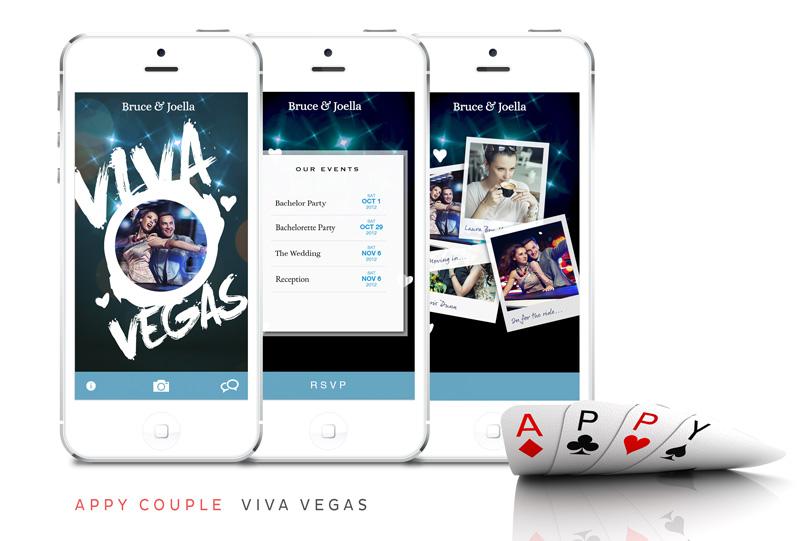 Get a stylish custom wedding app and website for your vegas get a stylish custom wedding app and website for your vegas wedding plus a discount junglespirit Images
