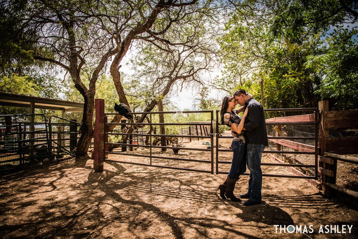 Old West Engagement In Las Vegas Thomas Ashley Photography