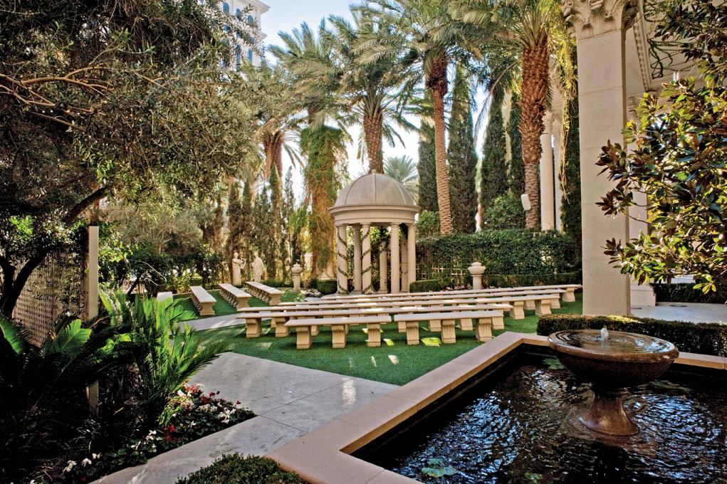 Venus Garden Caesars Palace Little Vegas Wedding Venue Guide