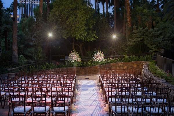 Mirage Dolphin Bar Pool Wedding | Little Vegas Wedding Venue Guide