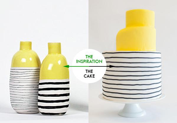 Uber-modern cake by Nine Cakes {via}