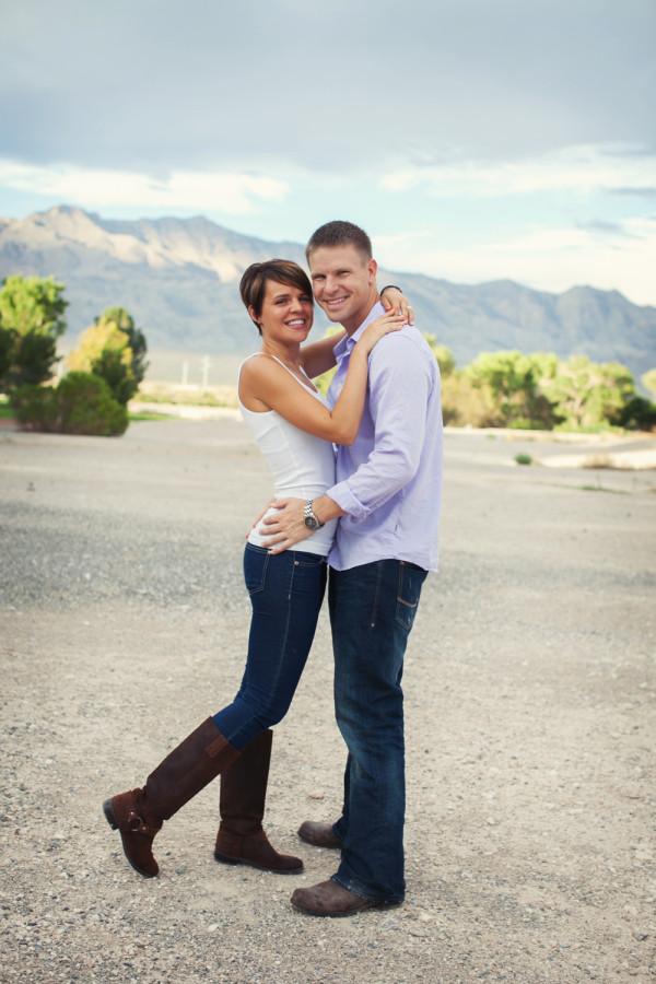 Floyd Lamb Park Engagement | Little Vegas Wedding