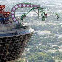 stratosphere thrill ride wedding