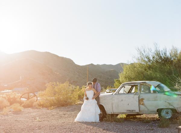 Ghost Town Wedding Gaby J Photography Little Vegas