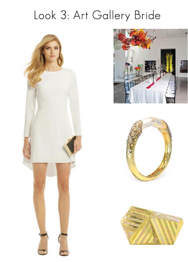 Vegas Wedding Style - Modern Gallery Bride
