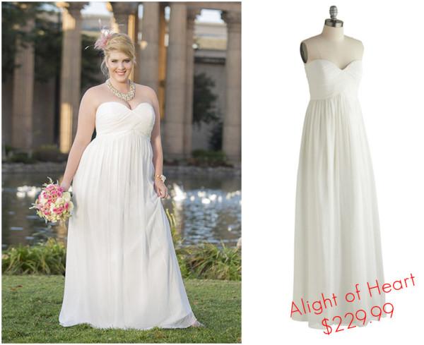 7 vegas bridal looks from modcloth for under 300 little for Wedding dresses for vegas