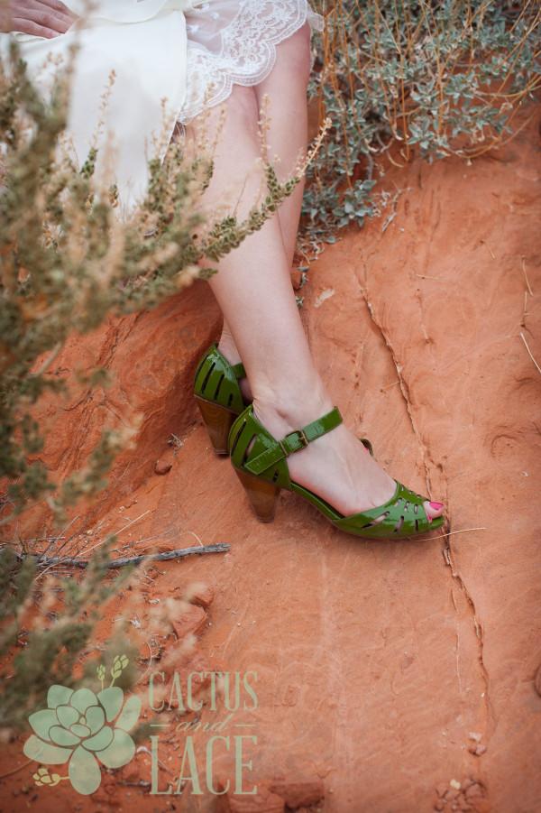 Stylish Valley of Fire Weddings | Little Vegas Wedding