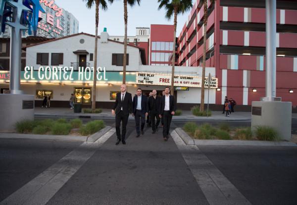 Retro Vegas Bachelor Party | Little Vegas Wedding