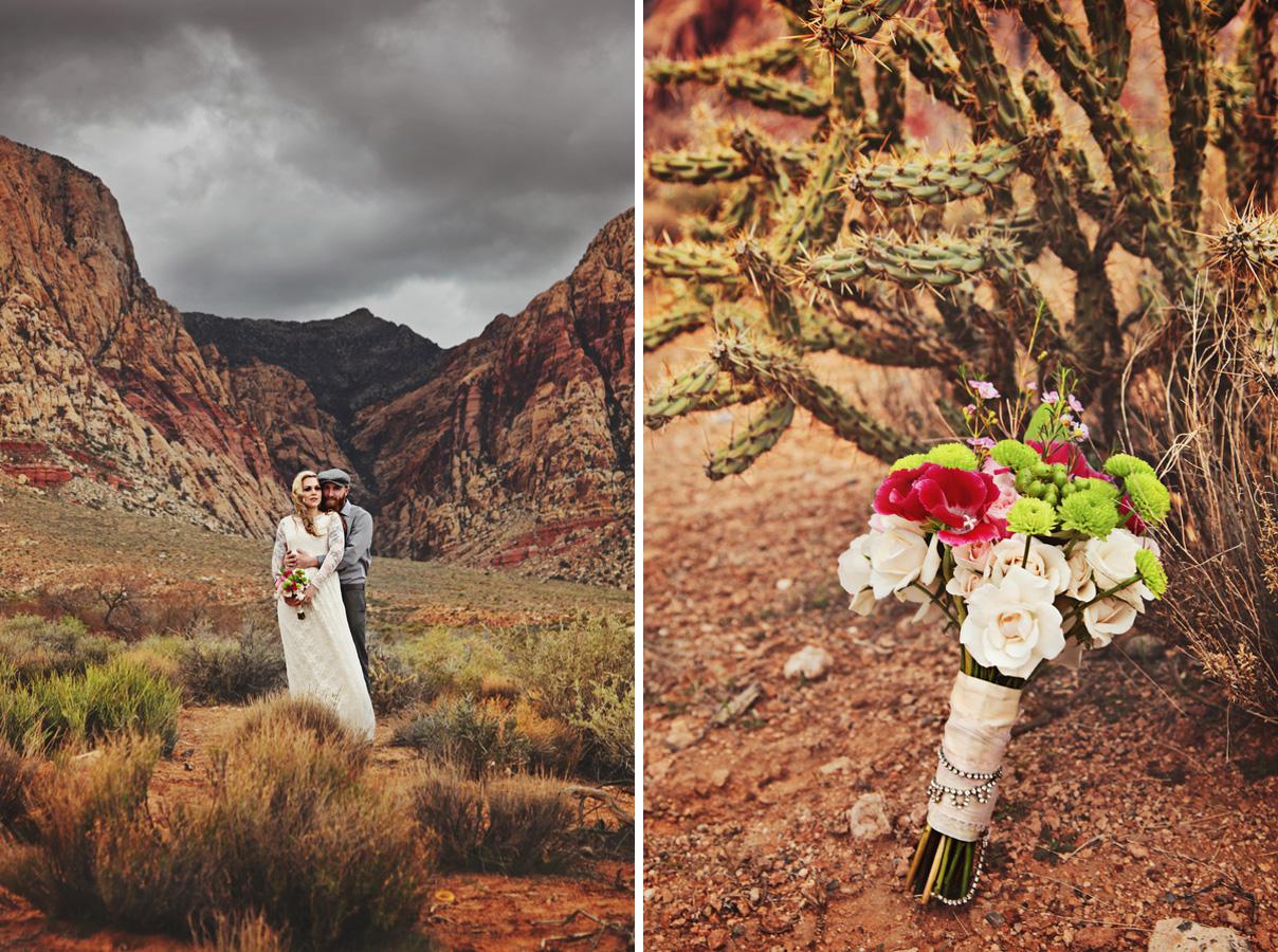Desert Wedding Inspiration Little Vegas