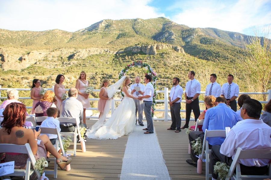 Rustic Mt Charleston Wedding Little Vegas