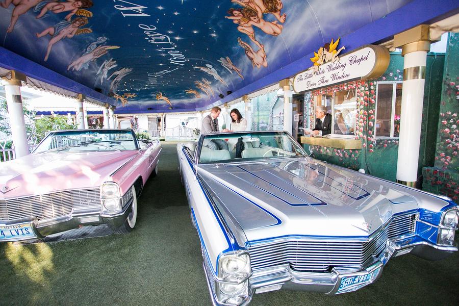 Drive Thru Wedding Little Vegas
