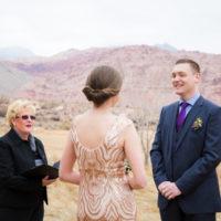 Red Rock Canyon Engagement | Little Vegas Wedding