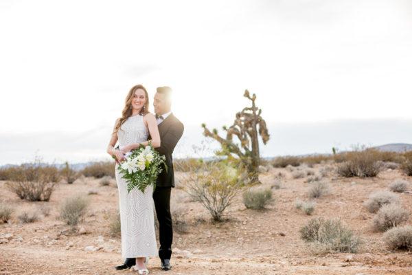Joshua Tree Styled Elopement | Little Vegas Wedding
