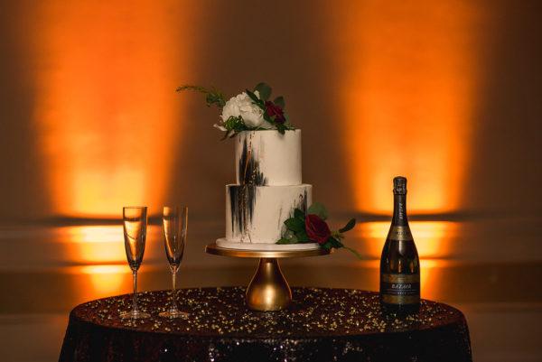 Moody Retro Styled Elopement Shoot | Little Vegas Wedding