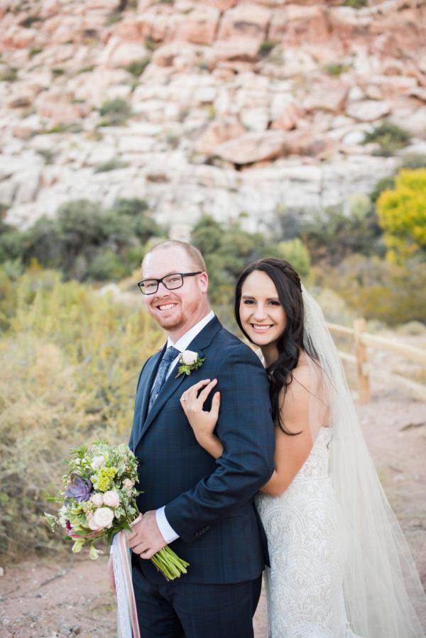 Elopement at Red Rock Canyon | Little Vegas Wedding