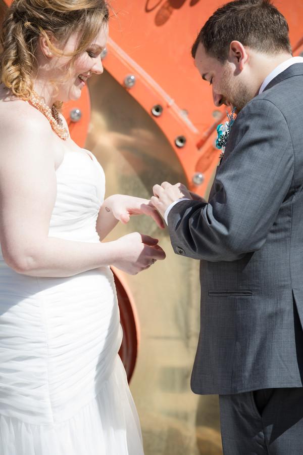Unicorn Wedding at Neon Museum | Little Vegas Wedding by Taylored Photo Memories