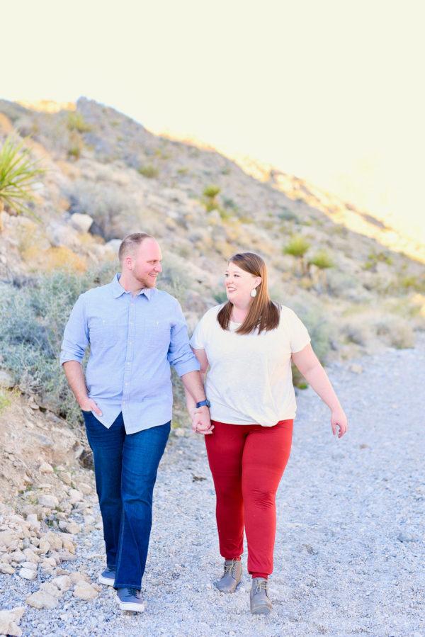 Las Vegas Engagement | Little Vegas Wedding