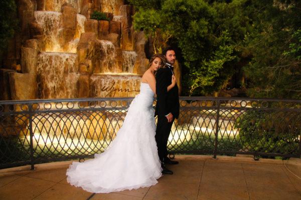 Wynn Elopement   Little Vegas Wedding