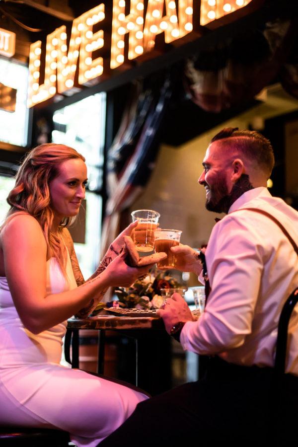 Downtown Vegas Elopement | Little Vegas Wedding