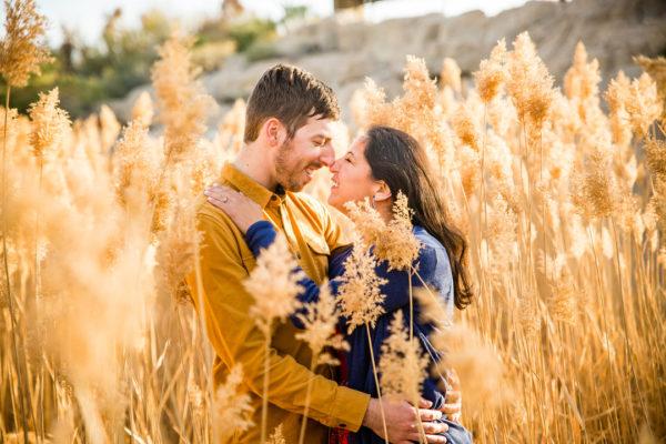 Natural Engagement Shoot | Little Vegas Wedding