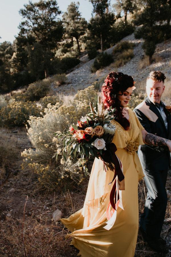 Harvest Gold Las Vegas Wedding Inspiration
