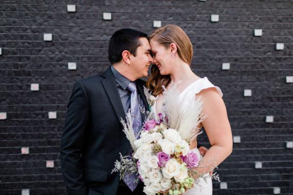 Modern Tiny Wedding in Downtown Vegas | Little Vegas Wedding