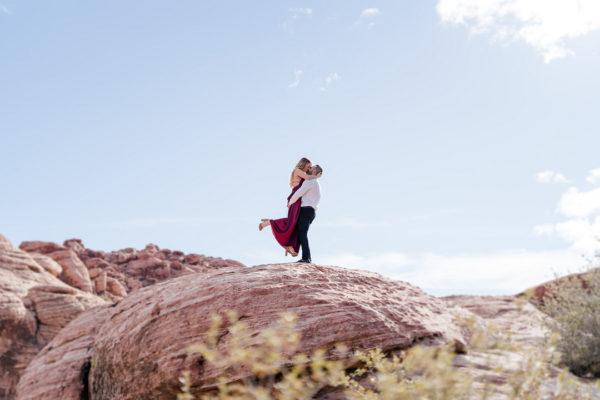 Hiking Elopement at Red Rock Canyon | Little Vegas Wedding