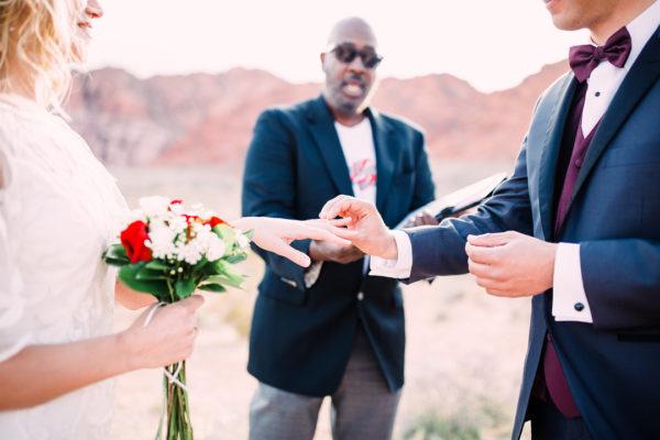 Vegas Desert Elopement at Red Rock